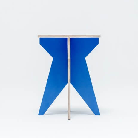 ST STOOL BLUE