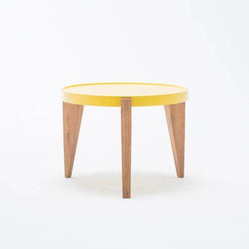 stolik bontri żółty